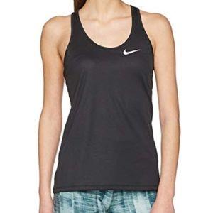 Nike Breathe Rapid Black Running Tank